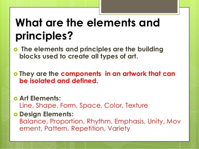Elements And Principles Of Design Color Definition : Elements and principles of art