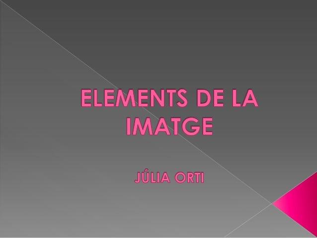 Elements de la imatge
