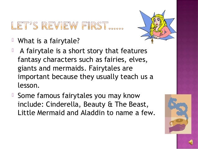 Elements Of A Fairytale