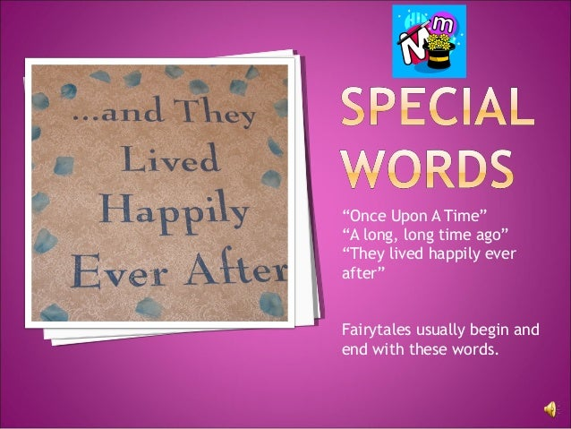 elements of a fairy tale powerpoint