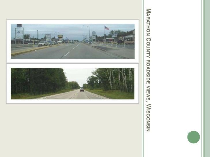 Marathon County roadside views, Wisconsin<br />