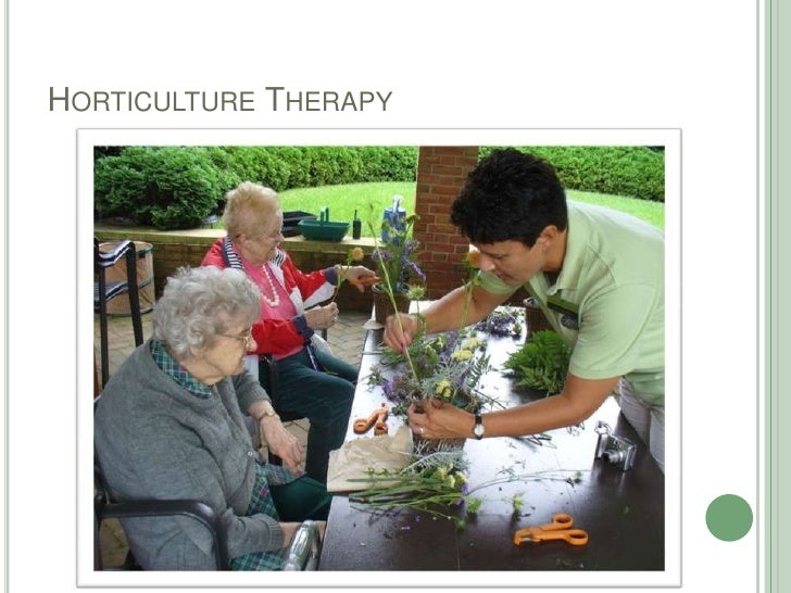Horticulture Therapy<br />