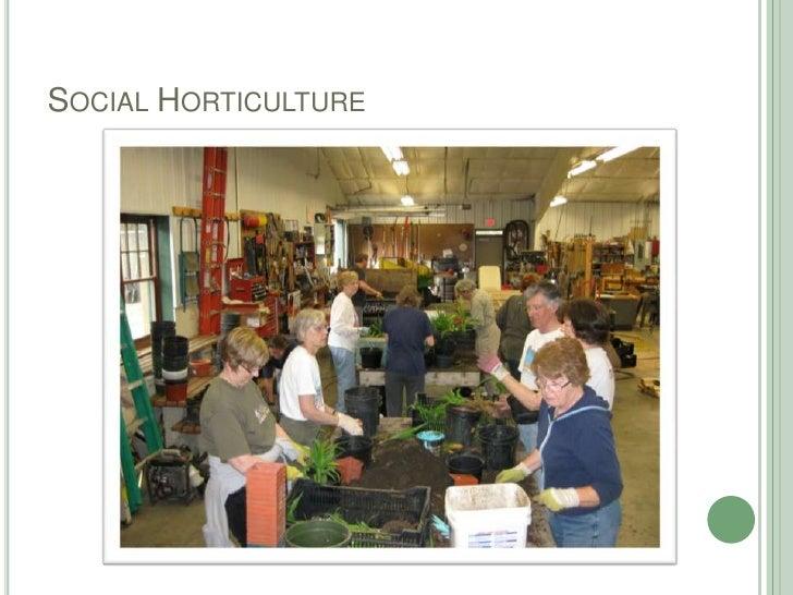 Social Horticulture<br />