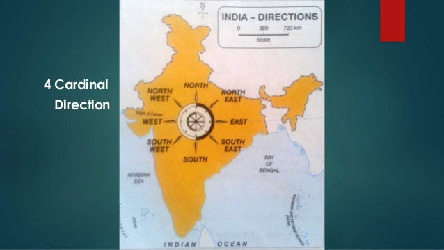 India Map With Directions.Elements Of A Map For 5th Djdhir