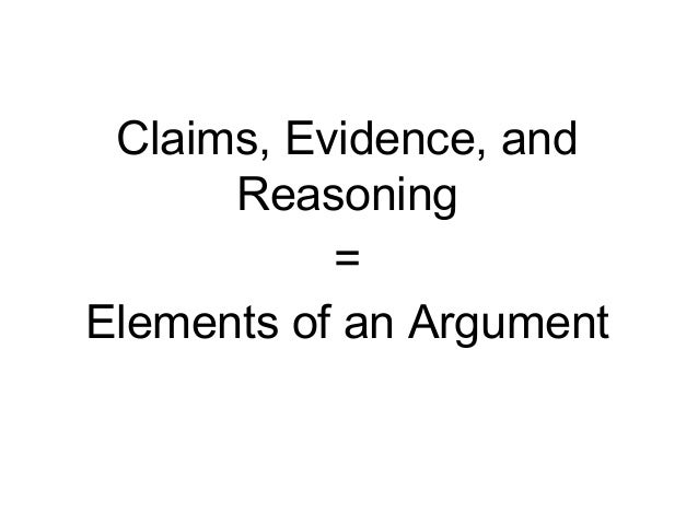 Elementsof anargument ppt