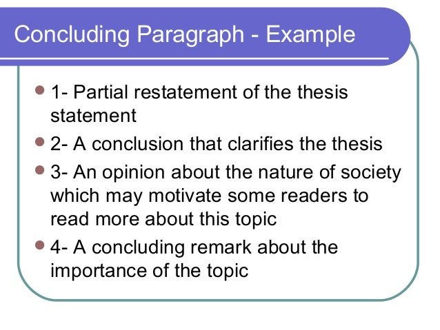phrases to conclude an essay