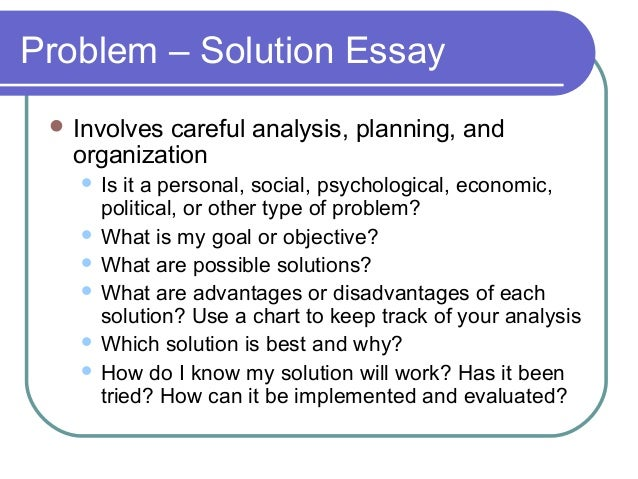 elements of an effective essay  categories 35 problem solution essay