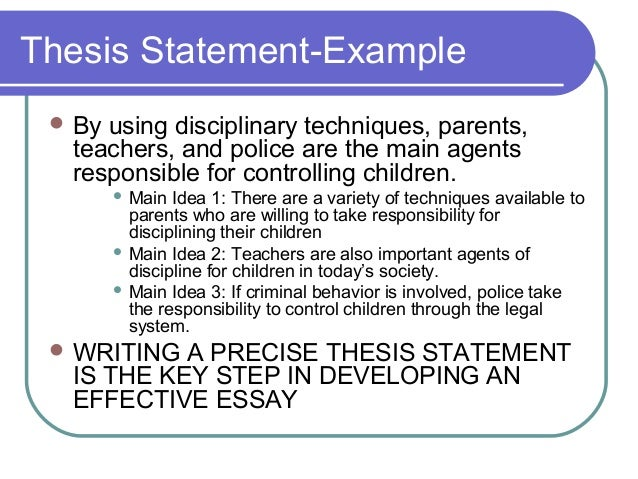 personal responsibility thesis Definition of personal responsibility and what it means to you explain the relationship between personal responsibility and college success include a preliminary.
