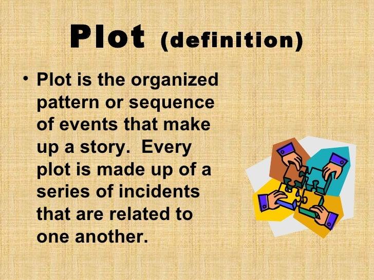 Elements of a plot diagram]