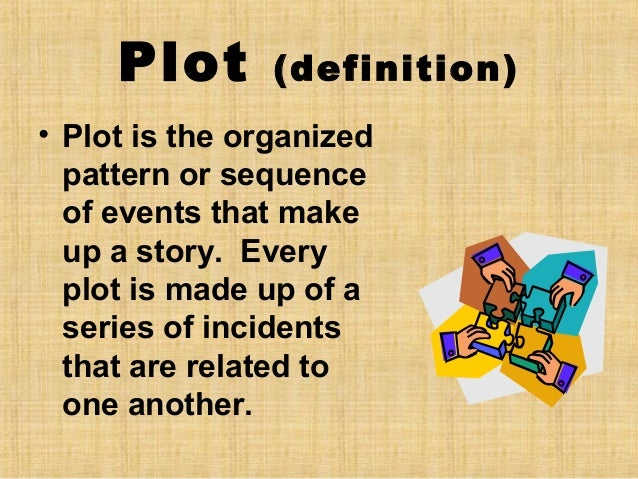 Elements of a plot diagram