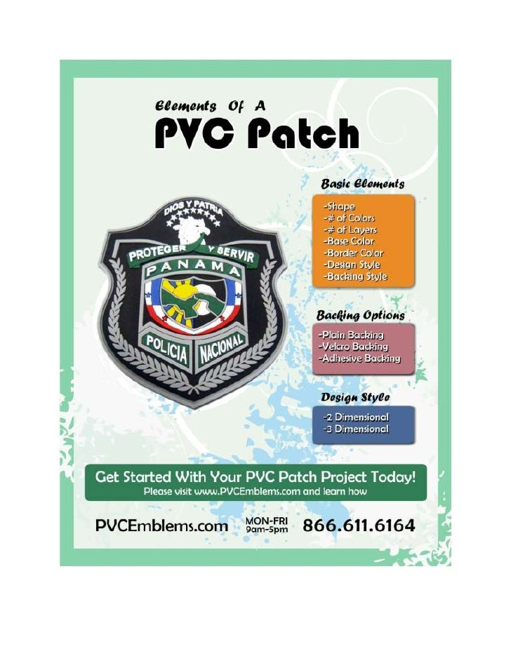 Basic Elements of a PVC patch
