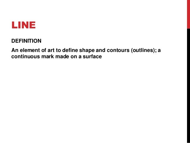Elements Of Art Definition : Elements of art