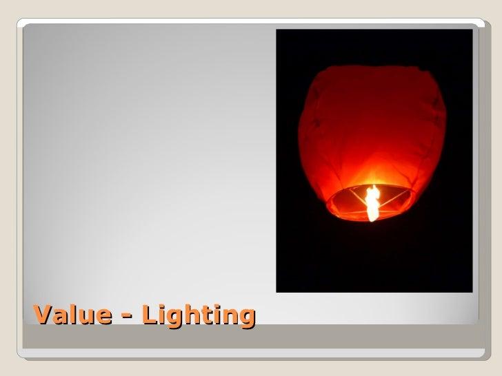 Value - Lighting