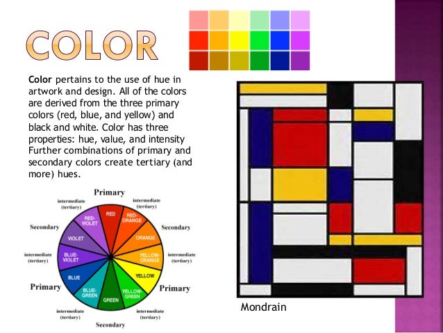 Elements Of Art Colour : Elements of art foundations
