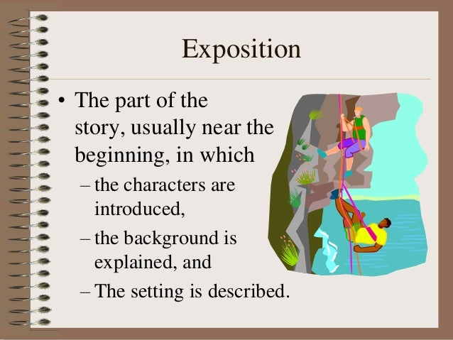 What is an easy short story?What is the falling action, resolution, climax and exposition.