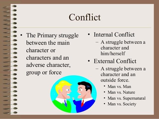 external conflict definition literature