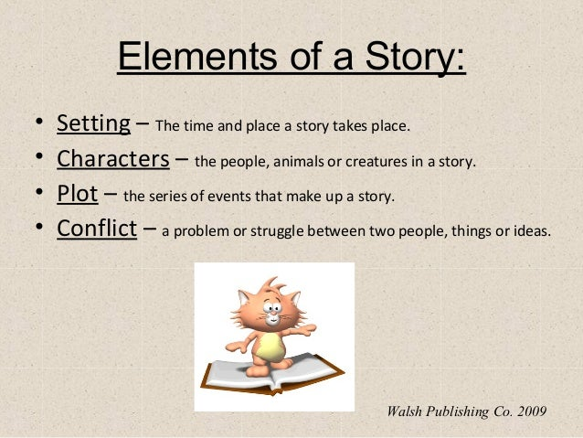 Elements of a story powerpoint – Setting of a Story Worksheets