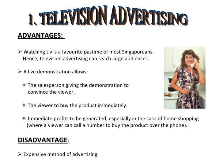adventages and disadvantages of watching tv Tv:advantages and disadvantages word count: watching tv takes a lot of time and it makes us lazy i feel that these advantages outweigh any disadvantages.