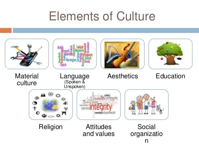 Elements Of Culture Material