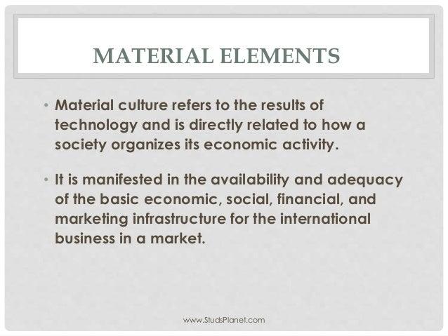 Material Elements  E2 80 A2 Material Culture