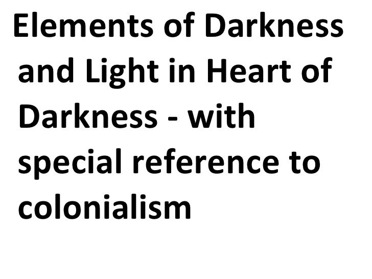 heart of darkness and allegory of The novella by joseph conrad, heart of darkness, deals with many issues  mr  kurtz is clearly an allegory of some sort, symbolizing the western man who has.