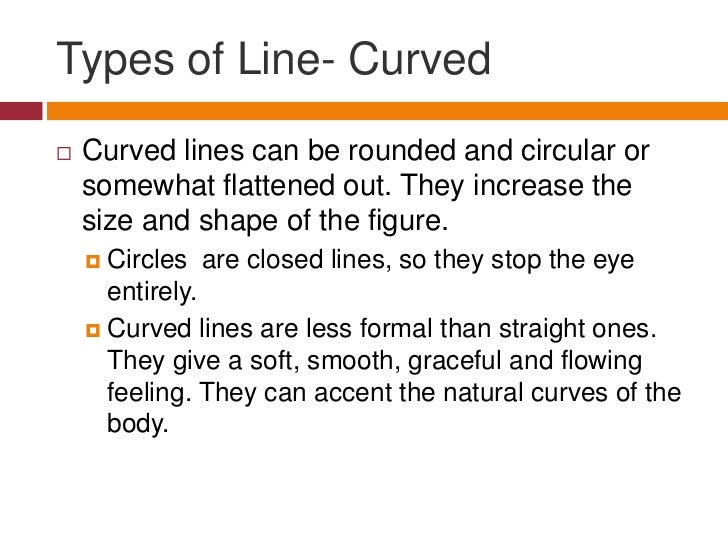 Types Of Lines In Design : Elements of design