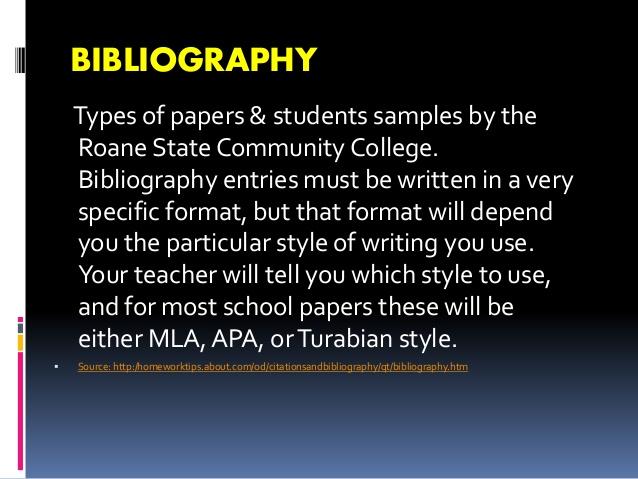 Kind of essay writing