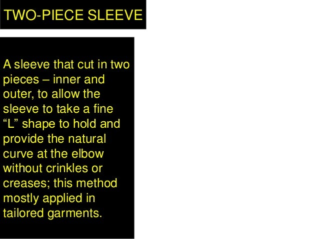 """TWO-PIECE SLEEVE A sleeve that cut in two pieces – inner and outer, to allow the sleeve to take a fine """"L"""" shape to hold a..."""