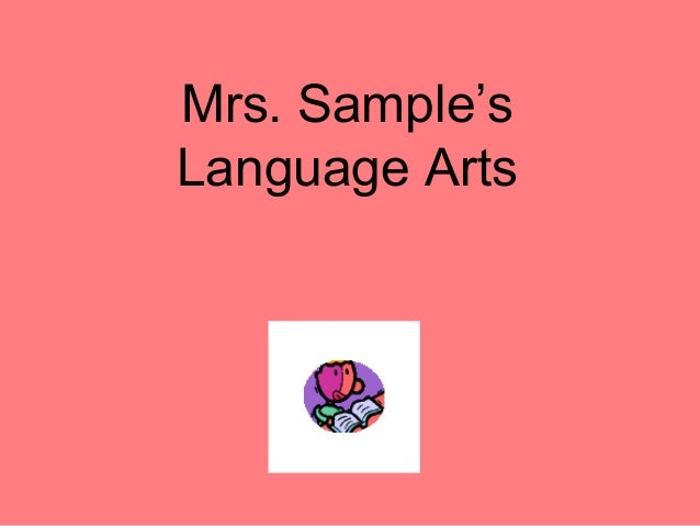Mrs. Sample's Language Arts