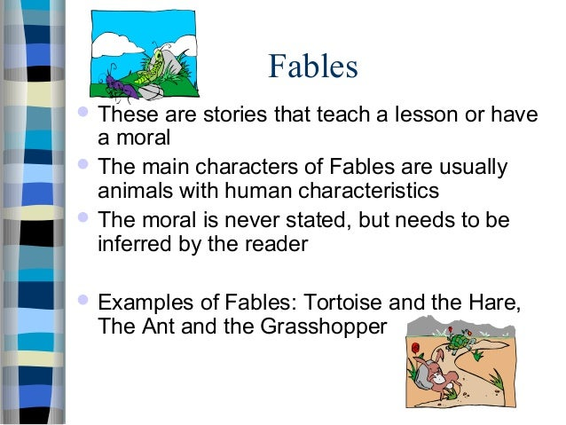 What are the characteristics of folktales?