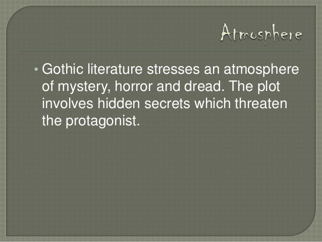 elements of gothic literature, Powerpoint templates