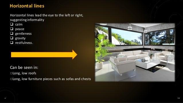 Elements of interior design