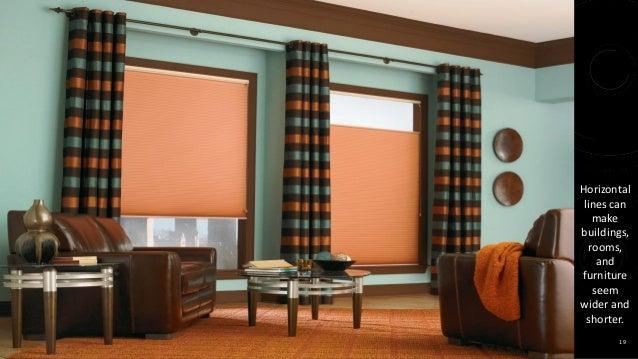 ... 19. sr 19 Horizontal lines ... & Elements of interior design