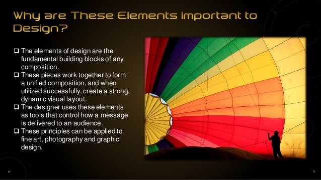 5. sr 5  The elements of design ...