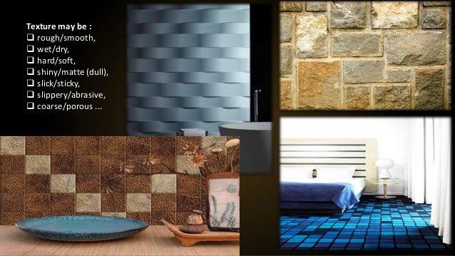 & Elements of interior design