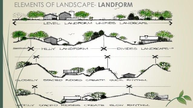 Elements of landscape design for Garden design elements