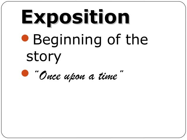 exposition in literature examples