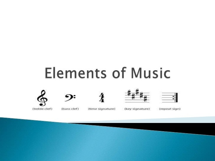 Elements of Music<br />