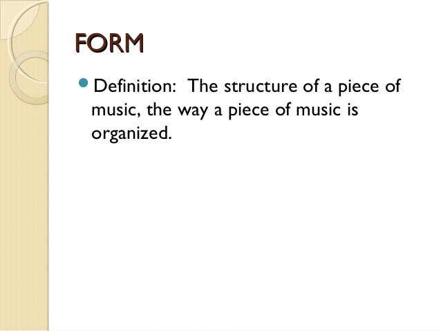 Elements of music great