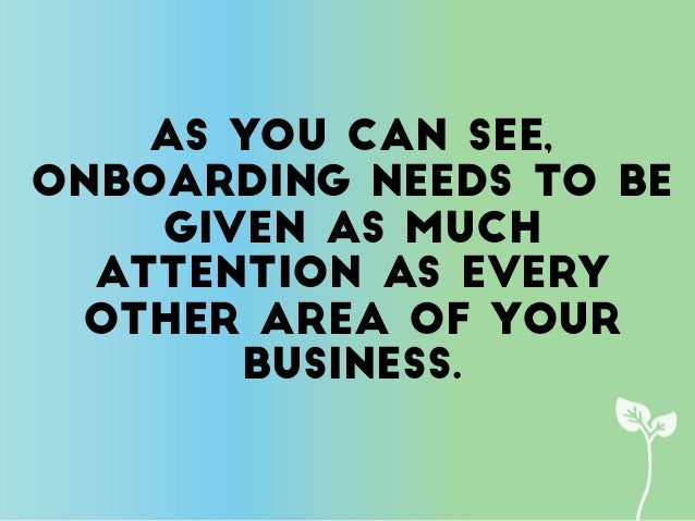 4 Critical Elements of Your Onboarding Process