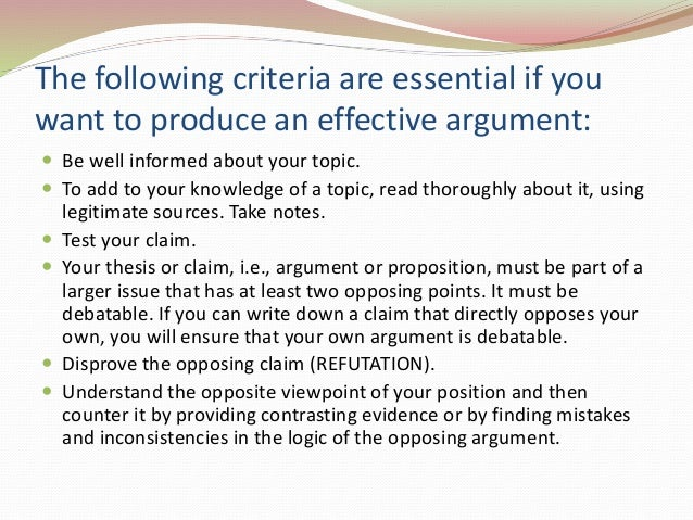 what are the necessary elements of an argumentative essay Elements of an essay created in 1991 by gordon harvey, assistant director, harvard expository writing program edited in 1994 by dr elizabeth s taylor, senior lecturer, nonfiction writing program, department of english, brown university.