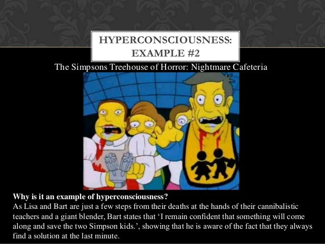 "postmodernism and the simpsons In the 26th edition of ""treehouse of horror,"" the simpsons's this has turned into a blank slate for the show's writers to indulge in postmodern."