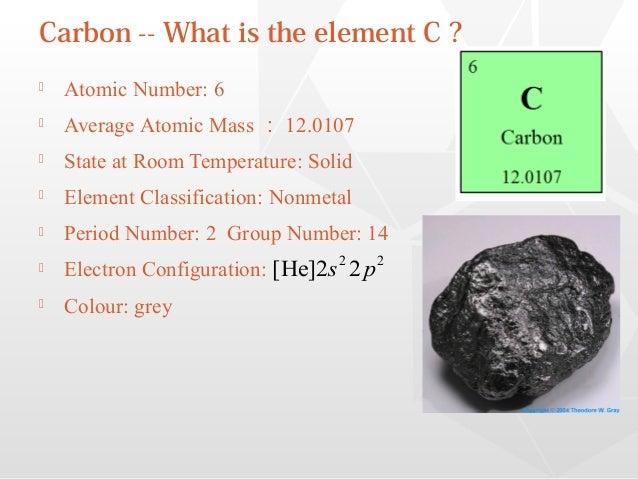 Carbon At Room Temperature State