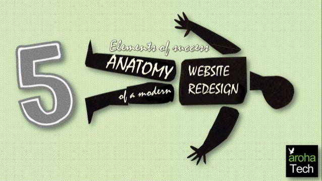 Elements Of Success Anatomy Of Website Redesign Arohatech