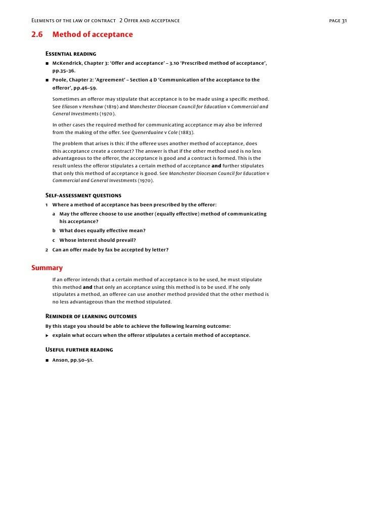 letter of acceptance of contract Oylekalakaarico