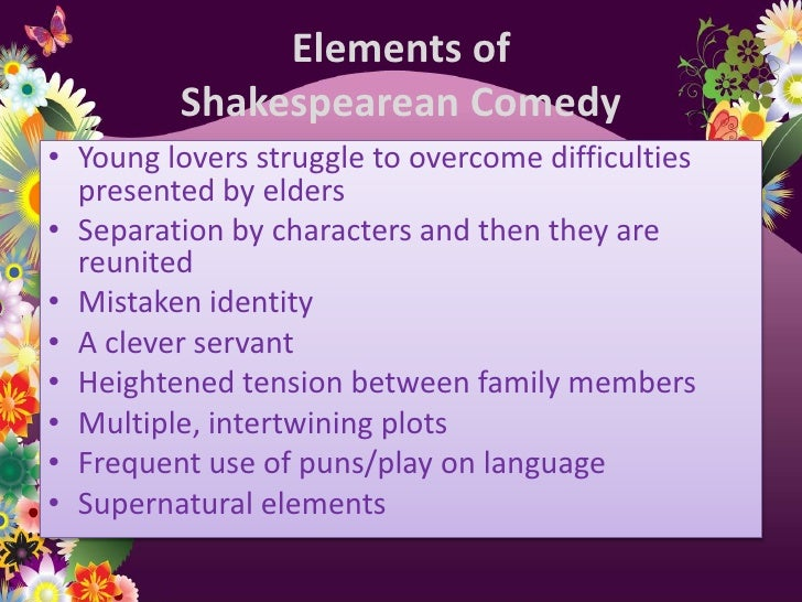 the use of supernatural elements in shakespeares tempst In reading the tempest we must bear in mind that the belief in magic and in earth or air, the four ancient elements and the supernatural in the tempest.