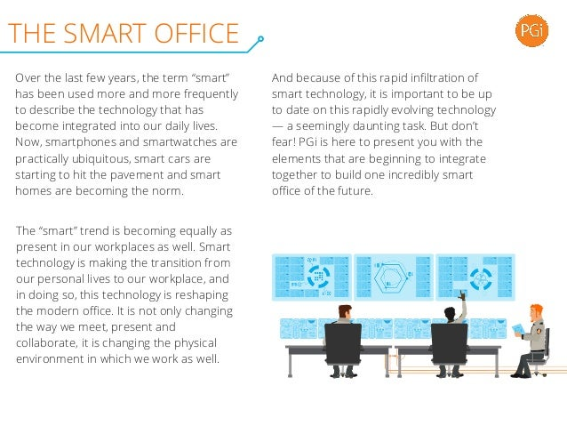 Elements of the Smart Office Slide 2