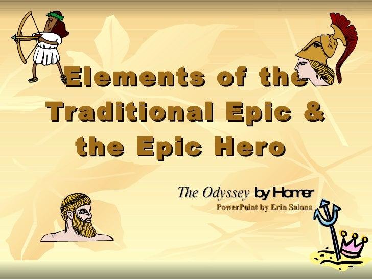 9 characteristics of an epic hero
