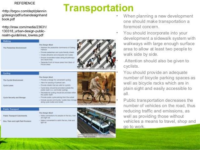27 Transportation  E2 80 A2 When Planning