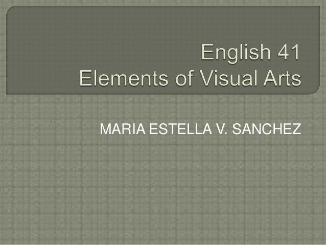 MARIA ESTELLA V. SANCHEZ